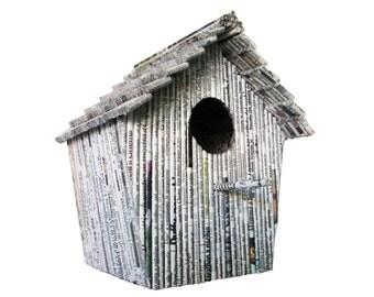 "Birdhouse ""Capanna"" - Paper Sculpture"
