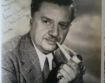 Vintage 1942 autographed photo of Jean Hersholt