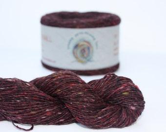 Spinning Yarns Weaving Tales - Tirchonaill 516 Red 100% Merino  for Knitting, Crochet, Warp & Weft