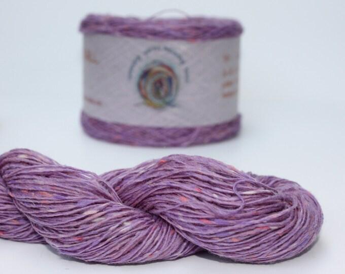 Spinning Yarns Weaving Tales - Tirchonaill 551 Mauve 100% Merino for Knitting, Crochet, Warp & Weft
