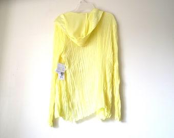 Yellow beach  Hoody - 2 items Top -Size S-Unworn