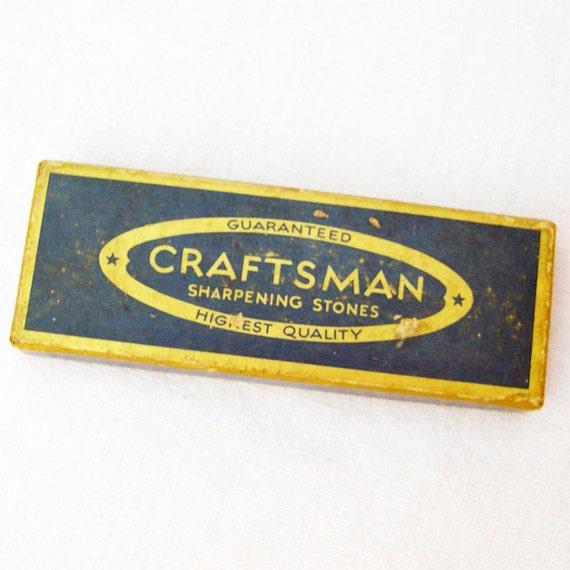 Sharpening stone vintage craftsman no 6436 for Craftsman stone