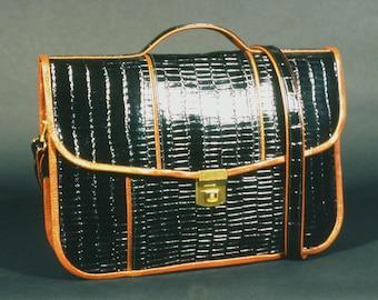 Large Black Briefcase