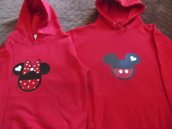 Mickey Minnie Mouse Couple Shirts Mickey/minnie Mouse Hoodie