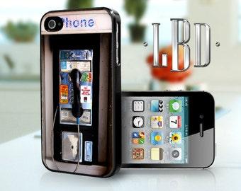 iPhone 4 4s Case - Vintage Pay Phone iP4