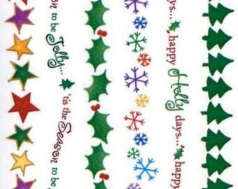 Christmas Stickers Borders