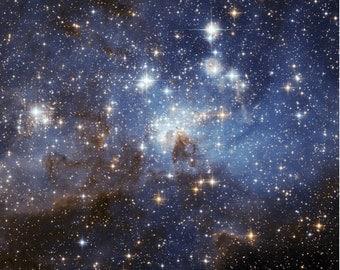 Magellanic Cloud 12x12 Space Poster