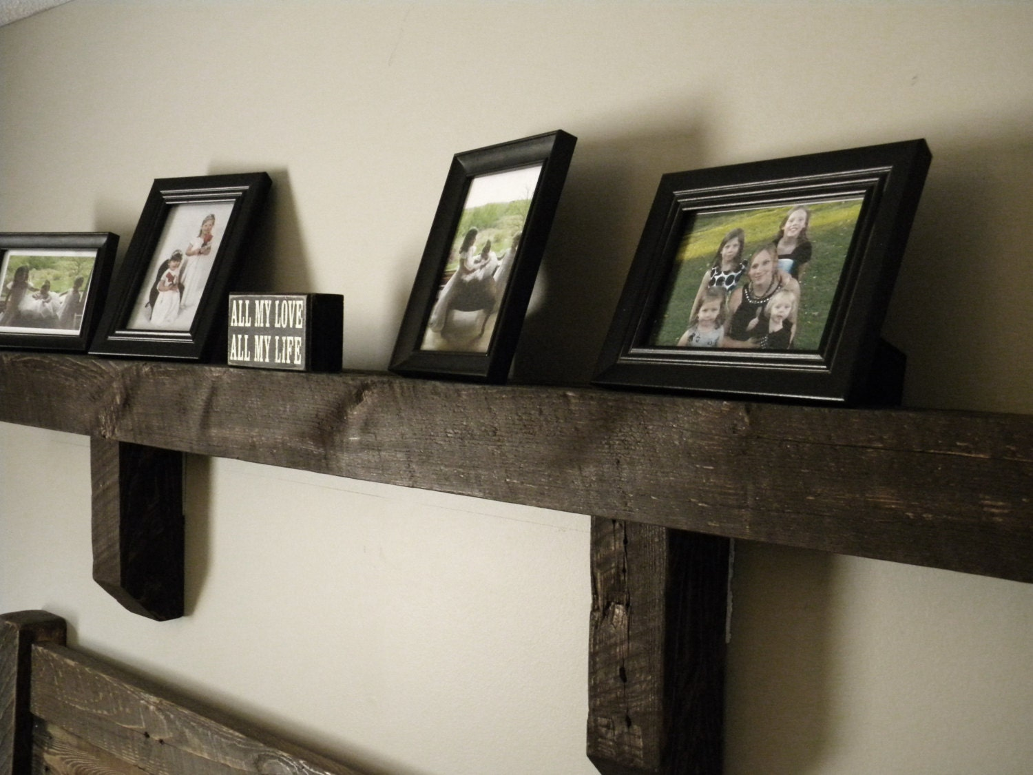mantel wall shelf fireplace mantel reclaimed by. Black Bedroom Furniture Sets. Home Design Ideas