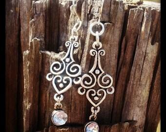 Scrollwork Earrings