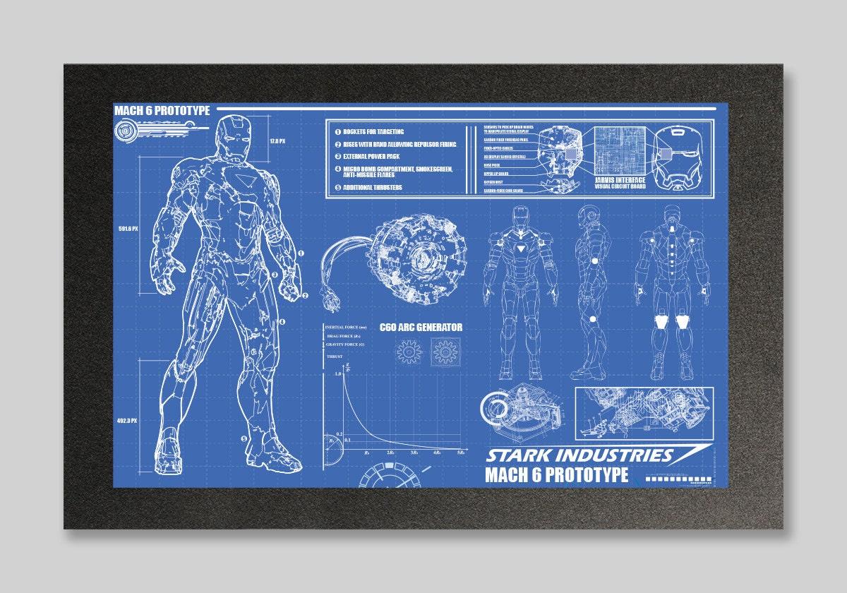 Iron Man Blueprint Download