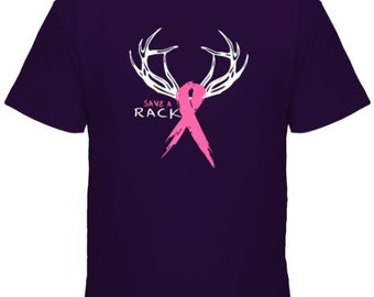 Save A Rack Breast Cancer T-shirt