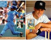 Baseball Beckett Magazine Number 71 1991 George Brett and Kevin Mass