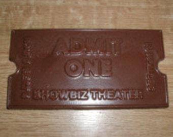 Theater Ticket Chocolate Mold