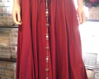 MADE TO ORDER - Renaissance, Medieval Girdle Belt - Detaches to make Belt & Necklace