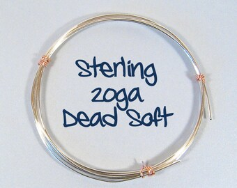 20ga 5ft DS Silver Filled Wire
