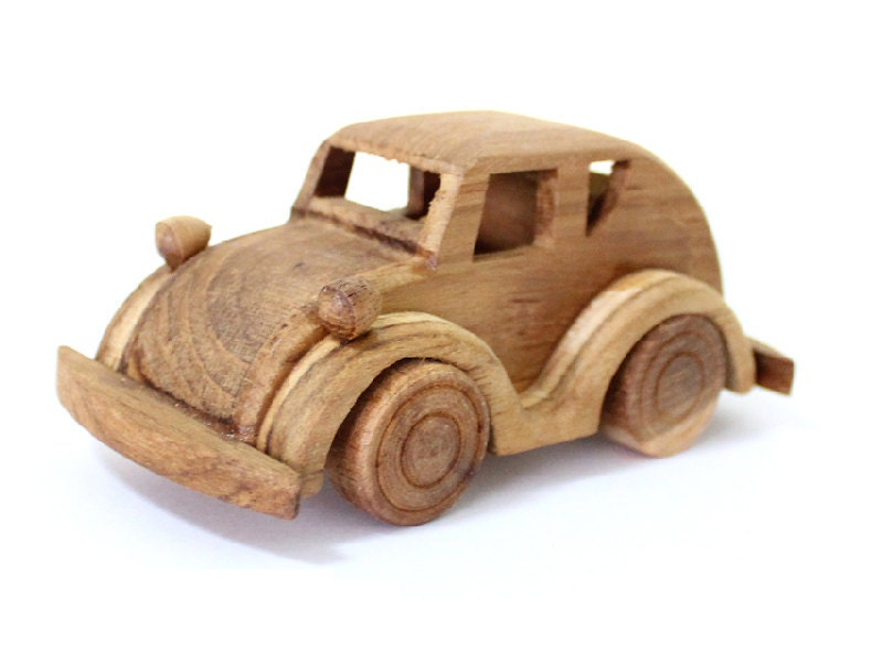 Handmade Toy Car Holder : Wooden toy beetle car in handmade