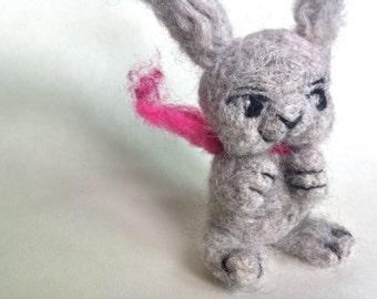 ZIGGY - handmade needle felted bunny