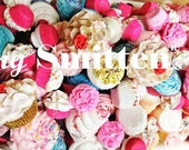 Lets Recycle together! Imperfect 3LBS Cupcake Bath Bombs/Regular Bath Bombs by: Feeling Smitten Bags of Handmade Goodness