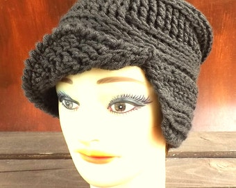 Crochet Pattern for Womens Hat, Crochet Hat Pattern, Crochet Pattern Hat, CLAIRISSE Crochet Beanie Pattern, Womens Beanie Crochet Pattern