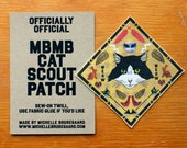 Cat Scout Twill Patch