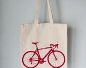 ECO Vital Bicycle - tote - red bike