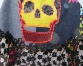 Calavera/Skull Pocket Obi