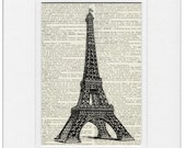 Eiffel Tower III print