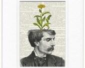 dandelion potted plant V print