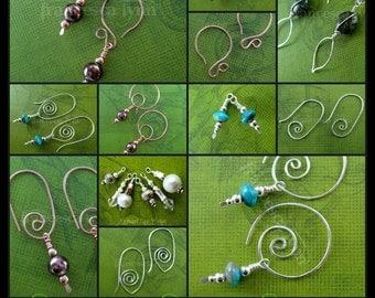 JEWELRY TUTORIAL - Urban Ear Wear - Earrings (Instant Download)