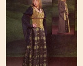 Medieval costume wedding dress sewing pattern MCCalls 4340 Out of print Sz 14 to 20