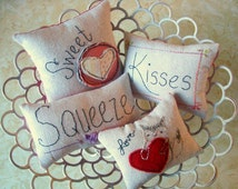 Pillow Embroidery Pattern Stitchery Ornies Download Pattern now