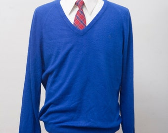 Men's Sweater / Vintage Christian Dior Sweater / Super Soft / Size Medium