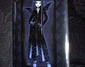 Mina Alchemical Vampire Blue Fairy Vinyl Business Card Holder