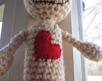CROCHET PATTERN Voodoo Doll Pin Cushion