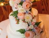 LOVE Cake Topper - Custom Color