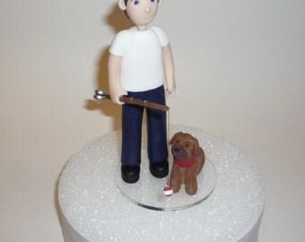 custom profession or hobby figurine - chef , artist , soccer, fisherman examples