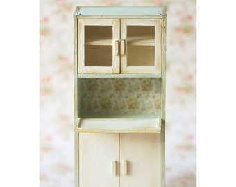 Dollhouse Furniture - Kitchen Cabinet - 1/12 Dollhouse Miniature Scale