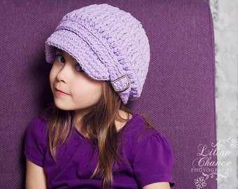 Baby Girl Newsboy Hat 9 to 12 Month Baby Newsboy Cap Baby Girl Hat Lavender Newsboy Cap Lavender Baby Hat Light Purple Baby Girl Clothes