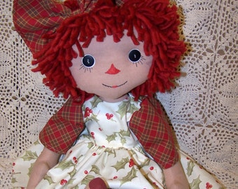 Primitive Raggedy Abby Doll Pattern ET