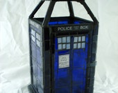 Doctor Who TARDIS Mosaic Lantern Made-To-Order