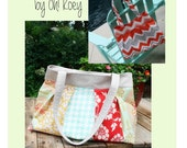 Pleated Bag Pattern,Pleated Purse Pattern PDF Sewing Pattern Ebook Sewing Tutorial DIGITAL DOWNLOAD