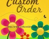 Custom listing for LicoriceLaneShop: Tanya Whelan - Barefoot Roses Legacy fabrics
