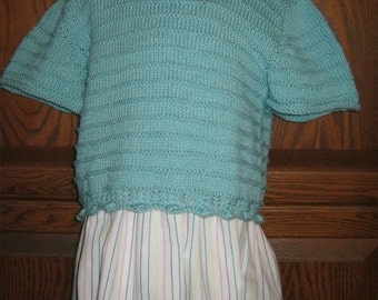 Mint Green Tee for a Tot