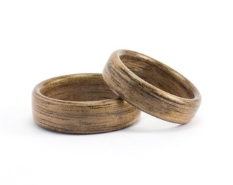 Wooden Rings, Wedding Ring Set, Classic Wood Wedding Rings, Bentwood Rings, Wood Rings, Wood Wedding Bands, Bentwood Bands, Wedding Rings