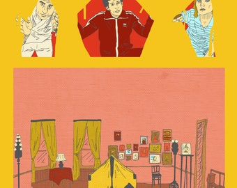 THE ROYAL TENENBAUMS Poster Artwork