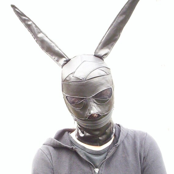 how to make rabbit face mask