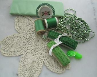 Go Green Creative Vintage Inspiration Artpack
