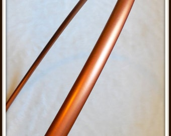 """METALLIC COPPER Polypro - Available in 3/4"""" AND 5/8"""" Thin!  Push-Button Collapsible. Free Sanding Option."""