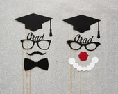 Graduation Photo Booth Props. Class of 2014 Photo Props. Photo Booth