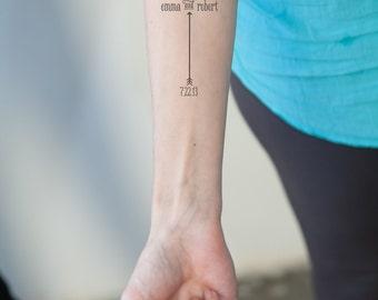 Getting Married Custom Temporary Tattoos